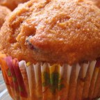 Whole Wheat Pumpkin-Applesauce Muffins