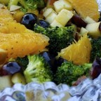 Fruit and Broccoli Buffet Salad