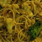 Stir Fried Pasta with Veggies