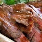 Beerbecue Beef Flank Steak