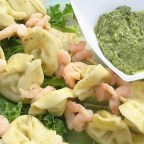 Shrimp and Tortellini Skewers