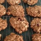 Cranberry Orange Oat Cookies