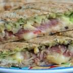 Avocado Prosciutto Ham Sandwich