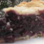 Ultimate Gooey Blueberry Pie