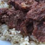 Khoresht Fesenjaan (Chicken with Pomegranate Sauce)