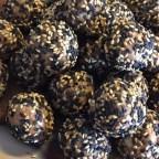 Peanut Butter Sesame Seed Balls