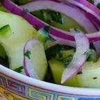 Cucumber Chili Salad