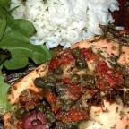 Salmon with Dijon Vinaigrette