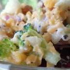 Vegetarian Bodacious Broccoli Salad