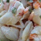 Shrimp and Pasta Shell Salad