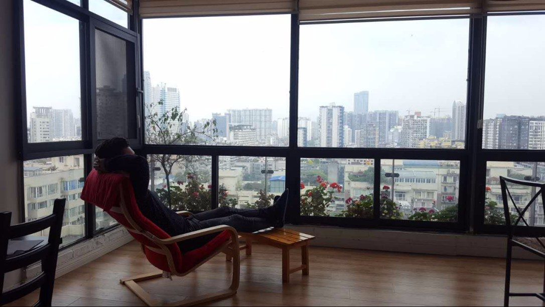 Apartment Chengdu view