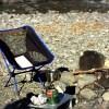 折りたたみテーブルとイス軽くて子連れアウトドアに大活躍。家族でキャンプを楽しむ便利な道具。