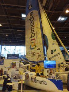 salon nautique paris expo porte versailles defi bimedia catamaran bourgnon