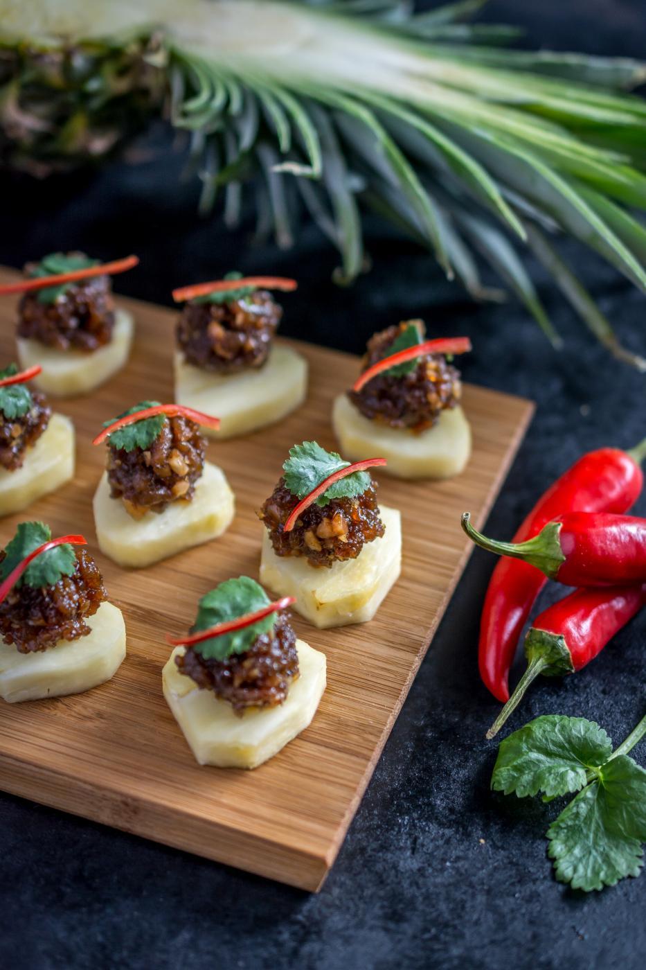 Thaimaan matkailun kokkikoulu ja Ma-Hor pyörykät