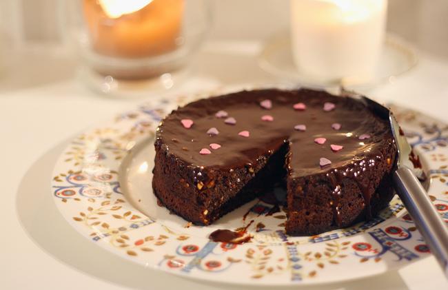 Nigellan jauhoton Nutella-kakku