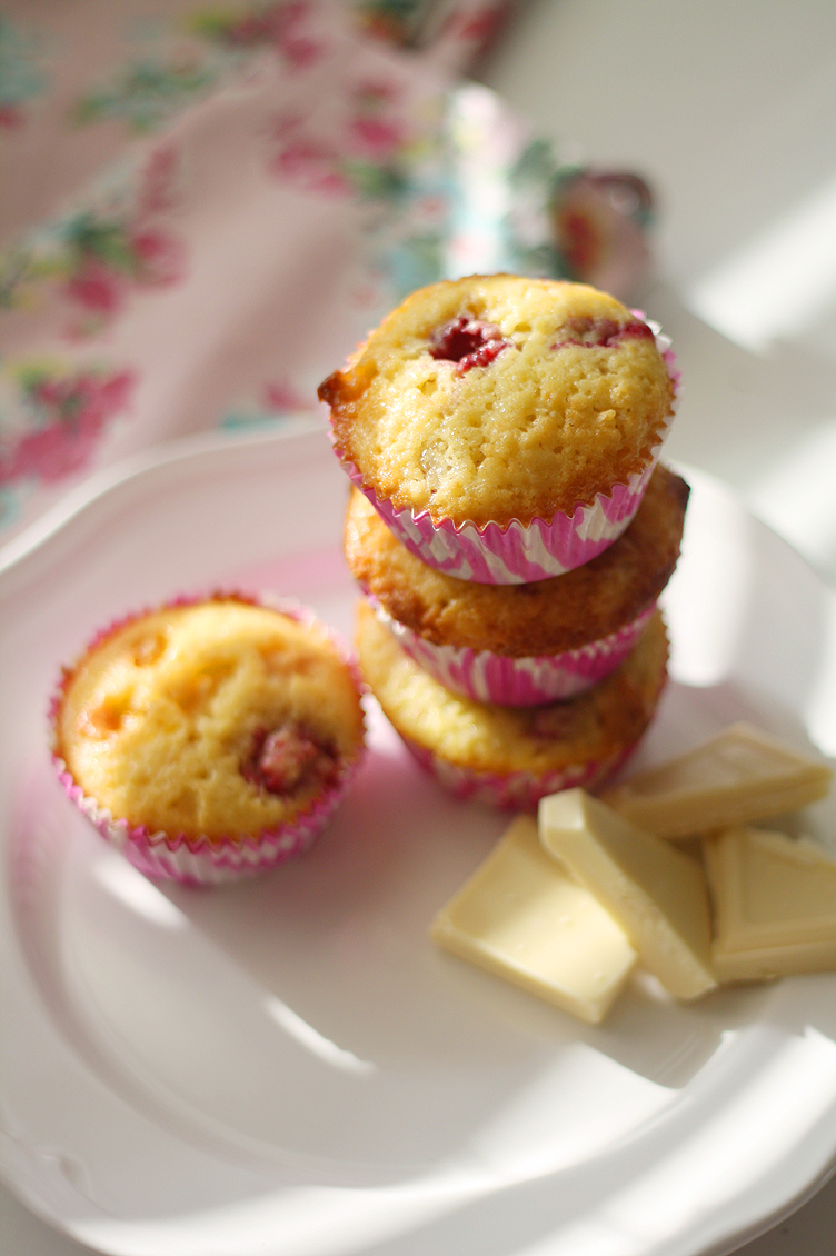 Sitruunaiset loppukesän muffinit