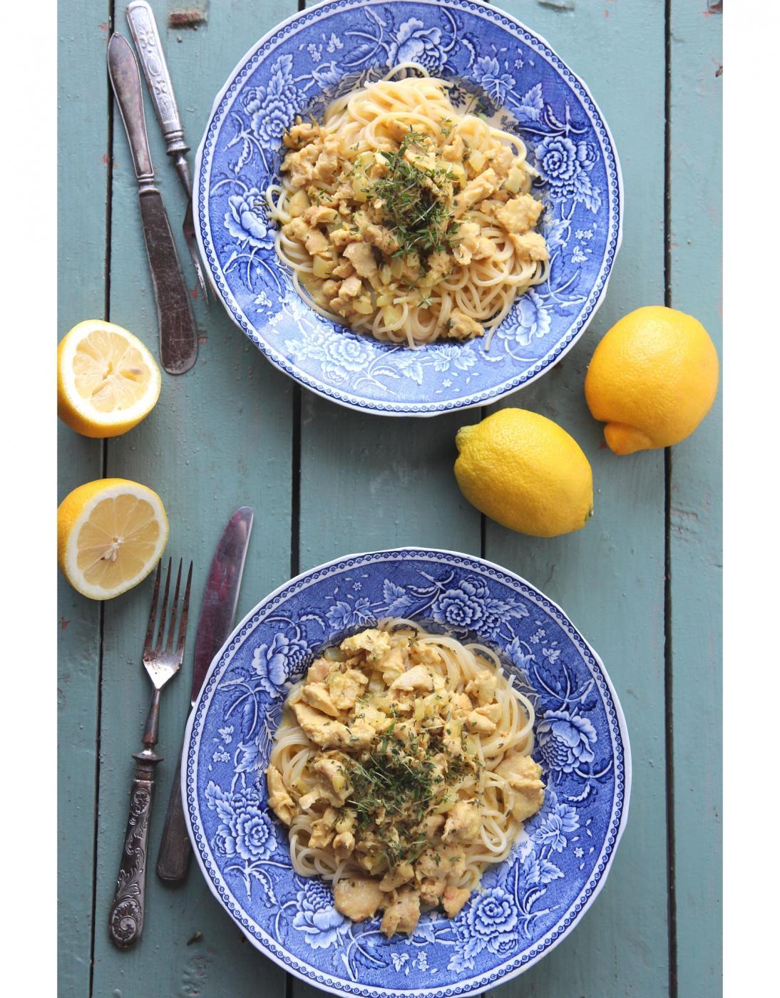 Iso satsi arkiruokaa 5: Räpsööläinen pollo limonello