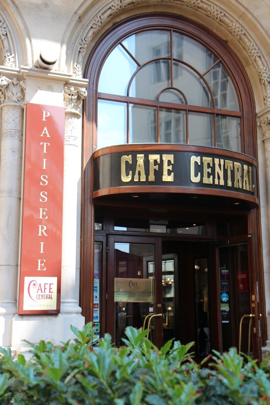 Cafe Central Vienna