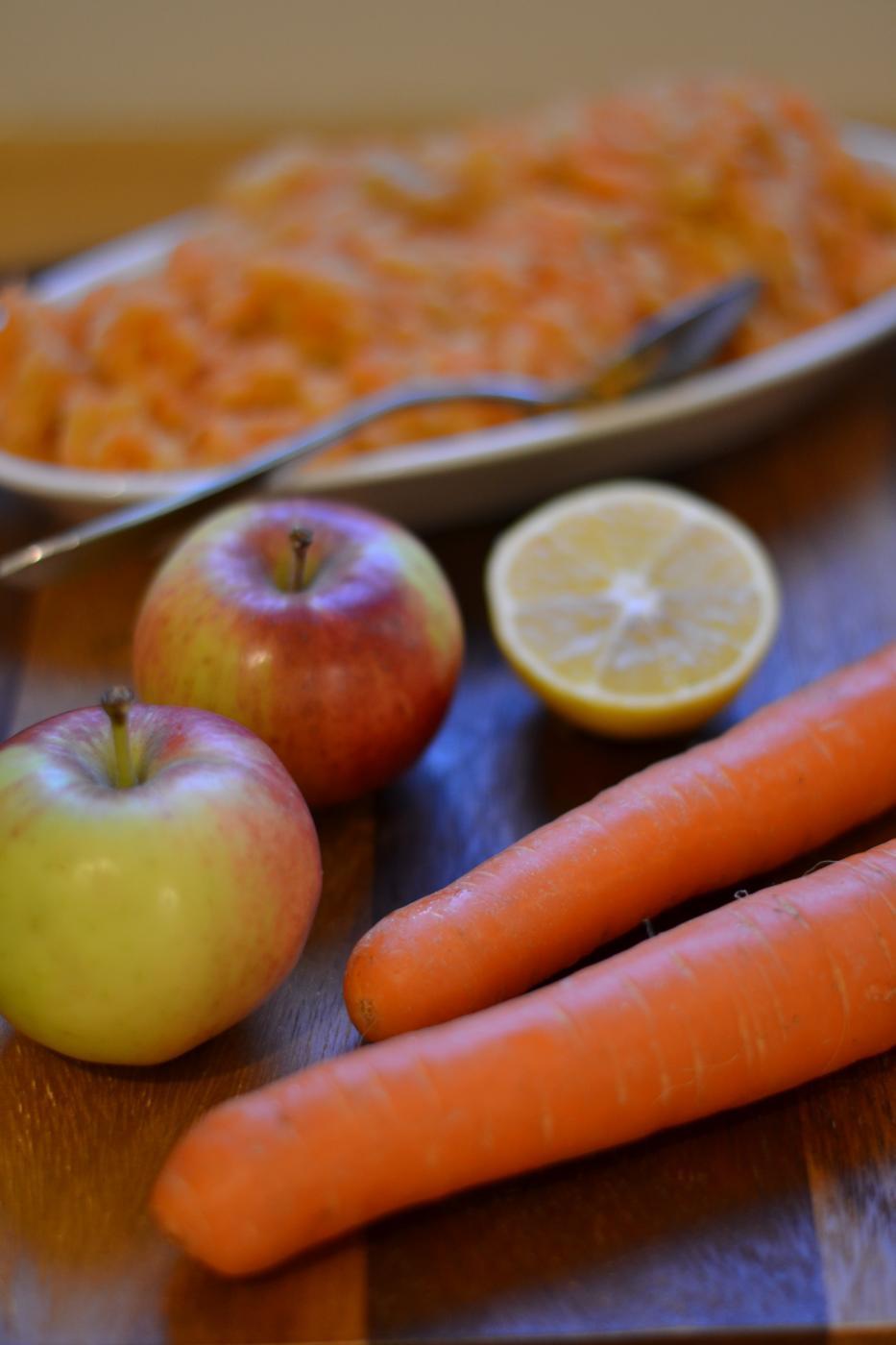 Arkiruoan oiva lisuke: kyssäkaali-porkkanaraaste