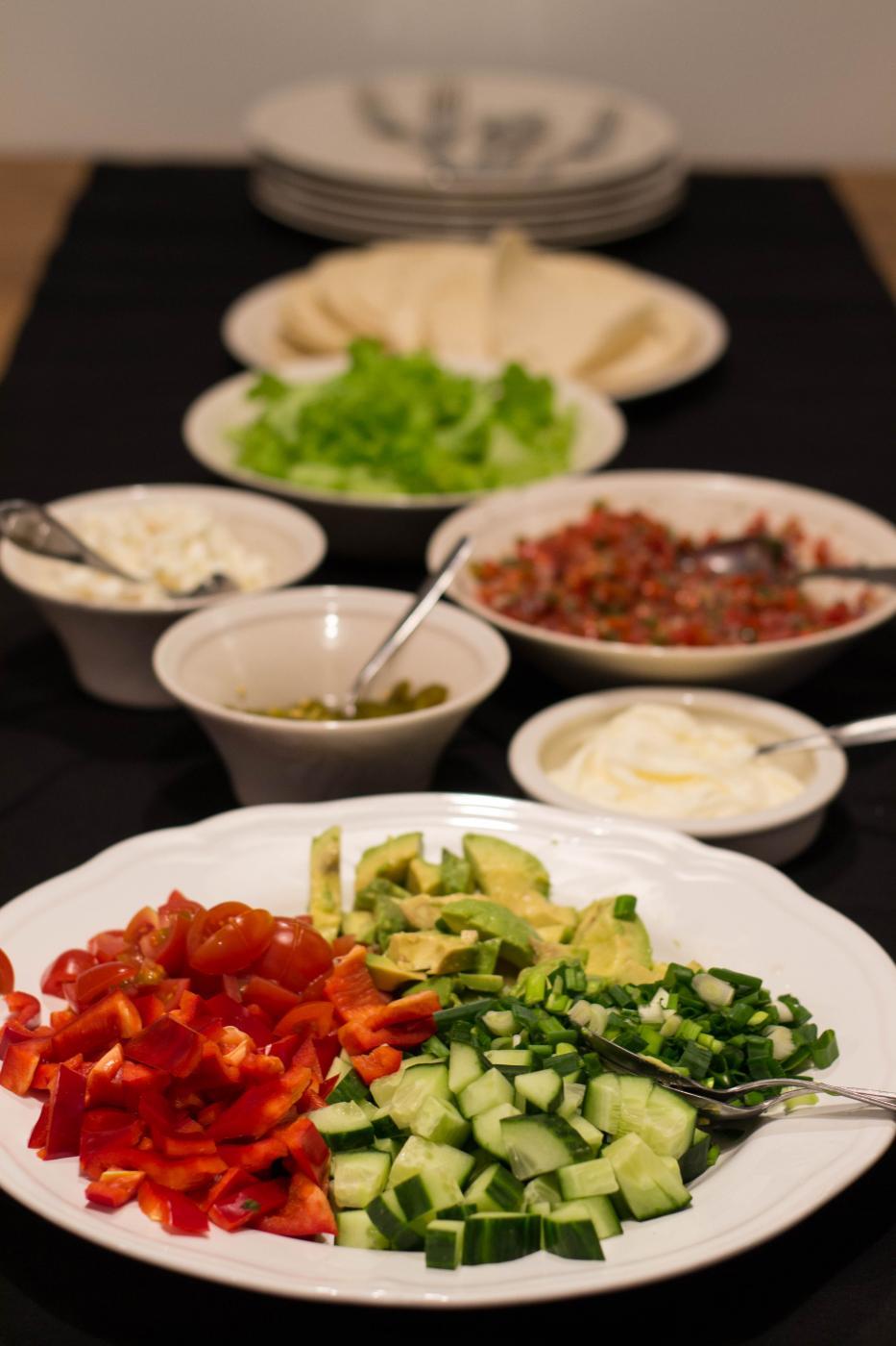 Burrito ilta