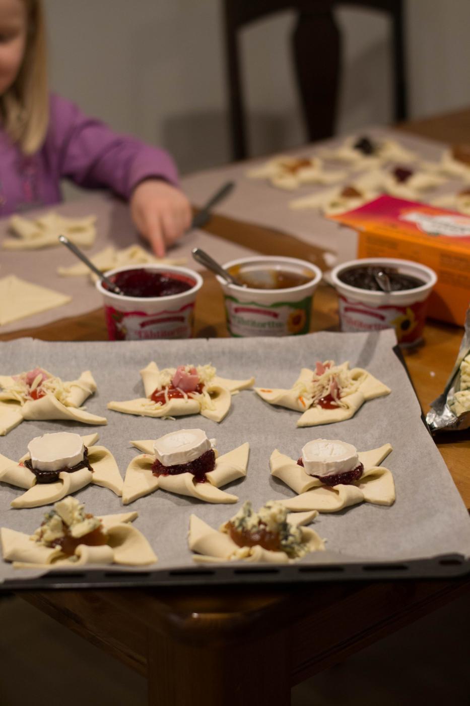 Lasten kanssa keittiössä: Suolaiset Joulutortut