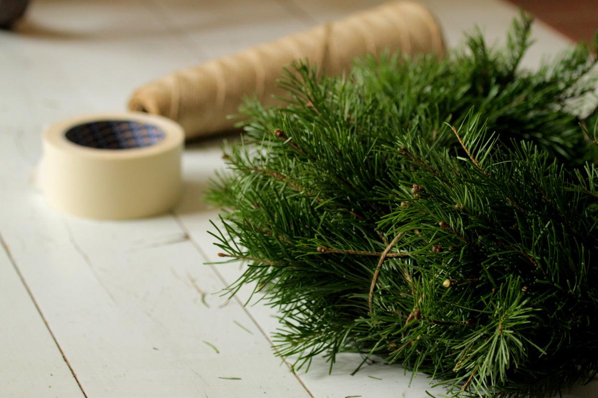 Tee itse jouluksi: Havukranssi