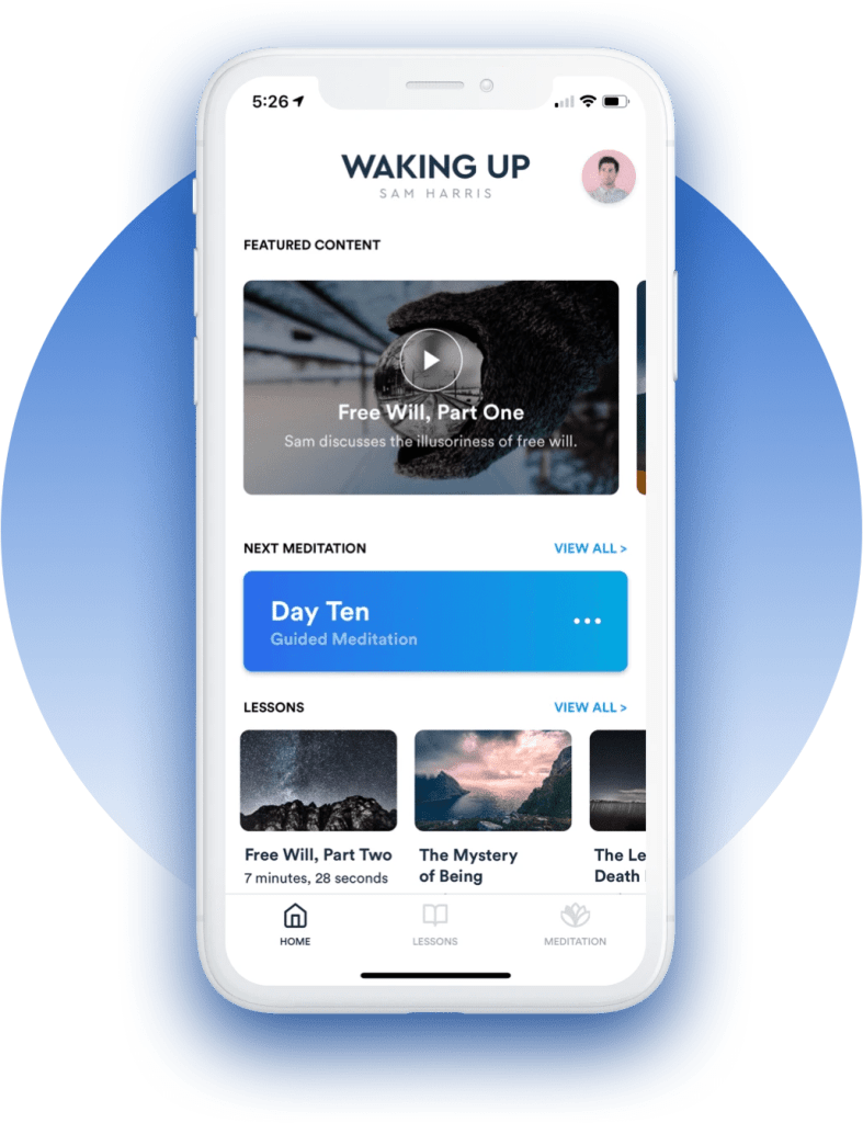 Wake Up Meditation App - A-Lifestyle