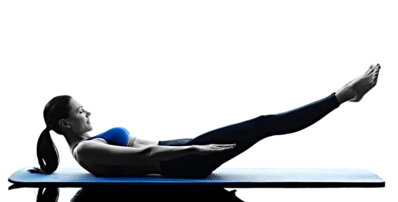 Ab workouts for women - Pilates hundreds