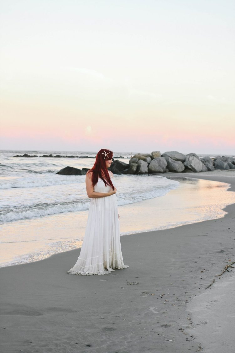 Ariel On The Beach