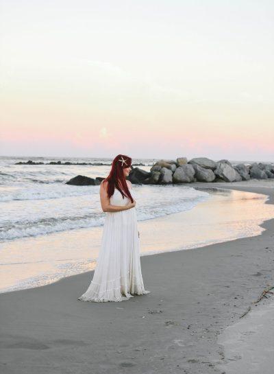 Ariel On The Beach