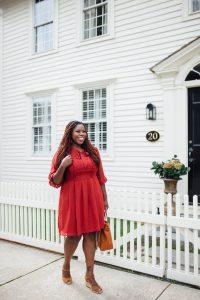 Sandra – Essex, CT – Red Dress