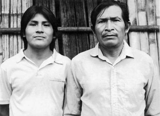 Bosco Warush et son fils