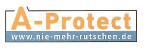 ehemaliges Logo von A-Protect