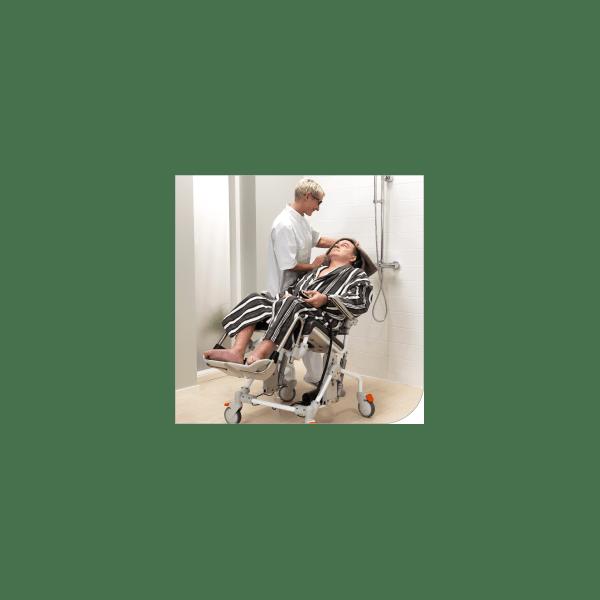Chaise Perce De Douche Et De Toilette Inclinable