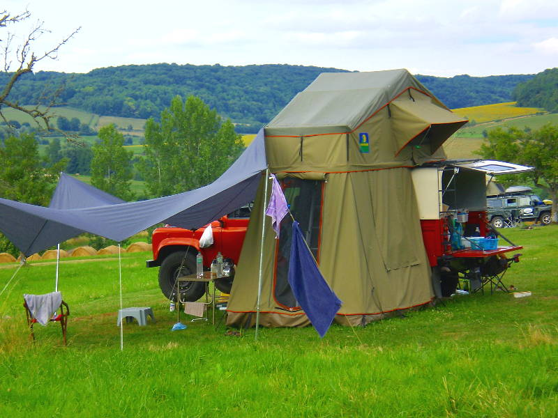 Camping A-rigaud Landrovers