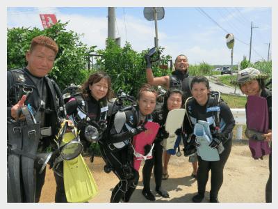 沖縄スキューバダイビング