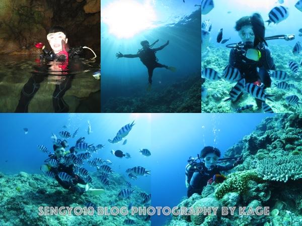 沖縄青の洞窟ダイビング|マンツーマン1