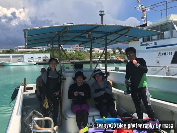 残波岬周辺でボートダイビング!地形とウミウシを楽しんで来ました