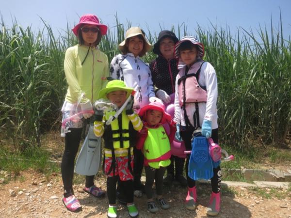 3歳からOK!沖縄でシュノーケリング体験★