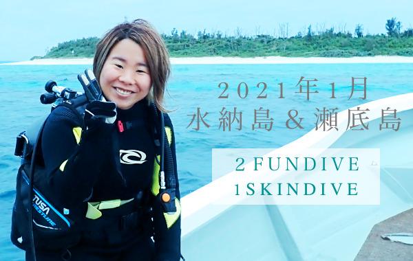 水納島ボートダイビング