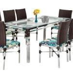 Jogo De Mesa Panero Com 6 Cadeiras Aluminio Moveis Famais Famais Moveis Conjunto De Mesa E Cadeiras Para Jardim Magazine Luiza