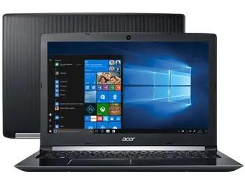"Notebook Acer Aspire 5 A515-51G-C97B Intel Core i5 - 8GB 1TB LED 15,6"" Placa de Vídeo 2GB Windows 10"