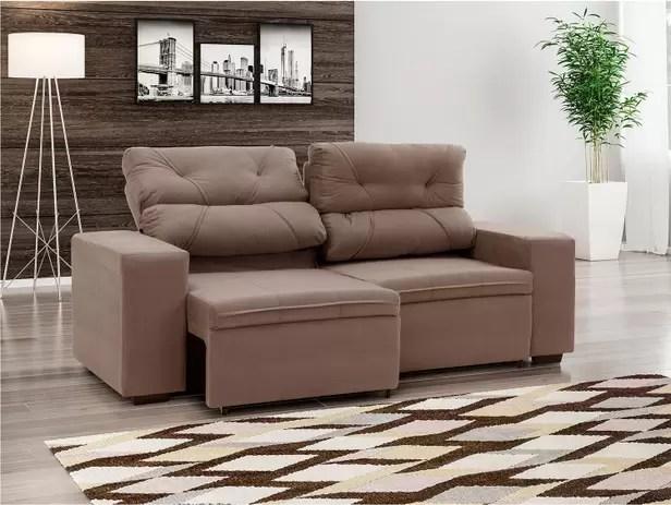 Sofa Retratil 2 E 3 Lugares Magazine Luiza | www.resnooze.com