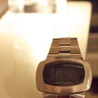 デジタルなのに、ほぼ単機能時計「pulsomatic」を買ってみた