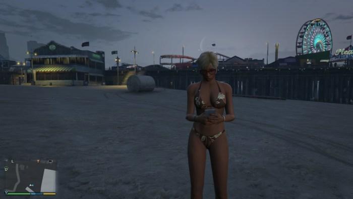 ビーチにはビキニ美女