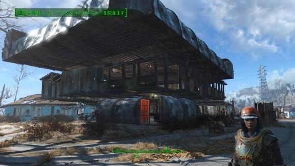 三階建ての家作った