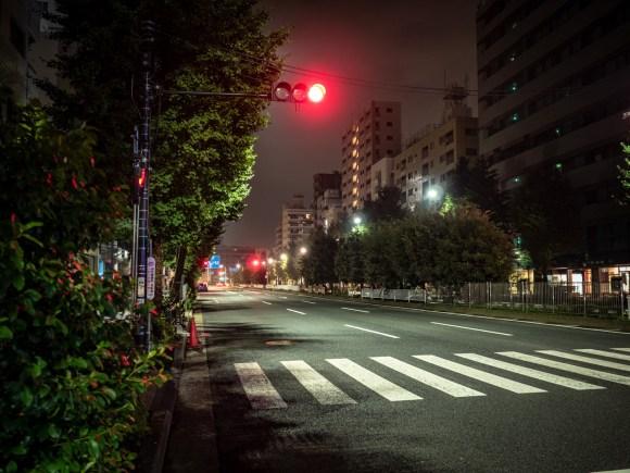 朝四時の301号線