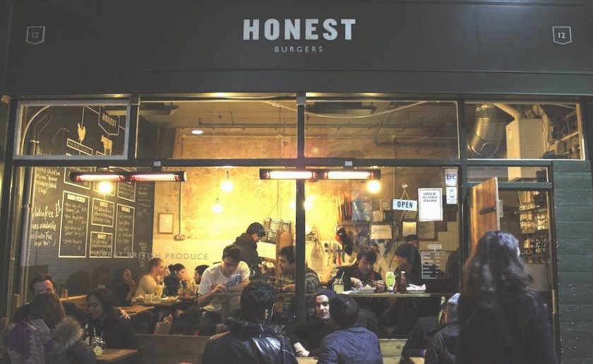 ITB Globetrotter - Honest Burgers in Brixton, London