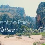 Klettern für Anfänger – Finde im Torrent de Pareis auf Mallorca heraus, ob Klettern dein Ding ist…
