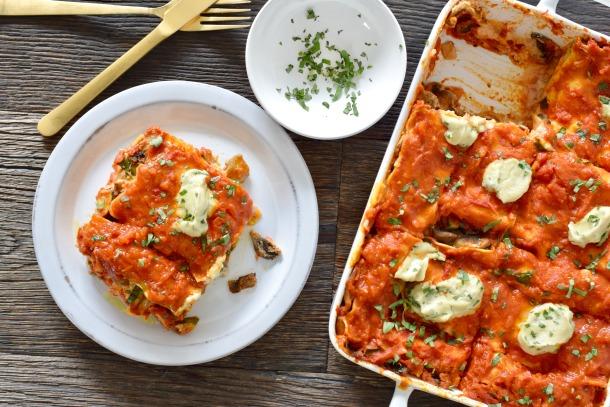 Hearty Veggie Lasagna—Test Kitchen Style!